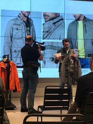 Kameramann Digitales Event