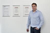 Marco Ahmann, Meister für Veranstaltungstechnik