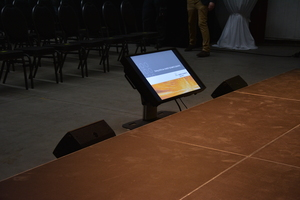 Displays für Konferenzanwendungen | perfect sound GmbH Konferenztechnik, Tagungstechnik, Kongresstechnik Verleih
