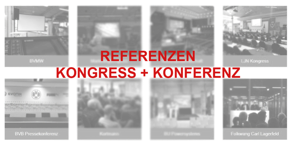 Referenzen Kongress und Konferenz | perfect sound GmbH Konferenztechnik, Kongresstechnik und Tagungstechnik